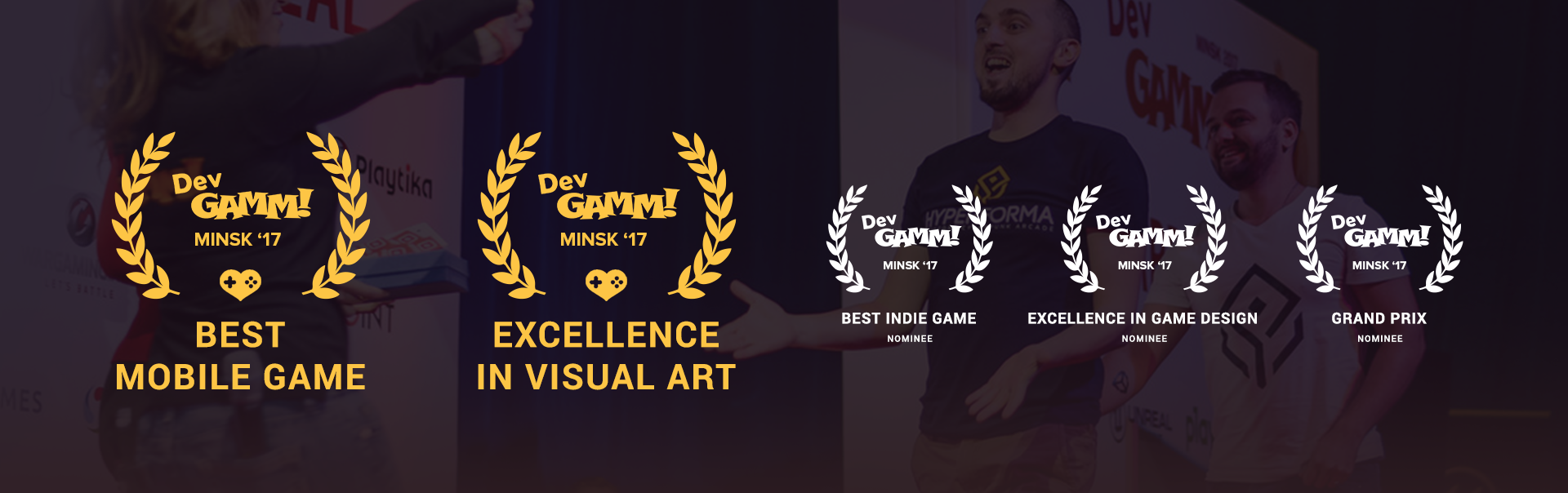 DevGAMM Minsk 2017_Awards